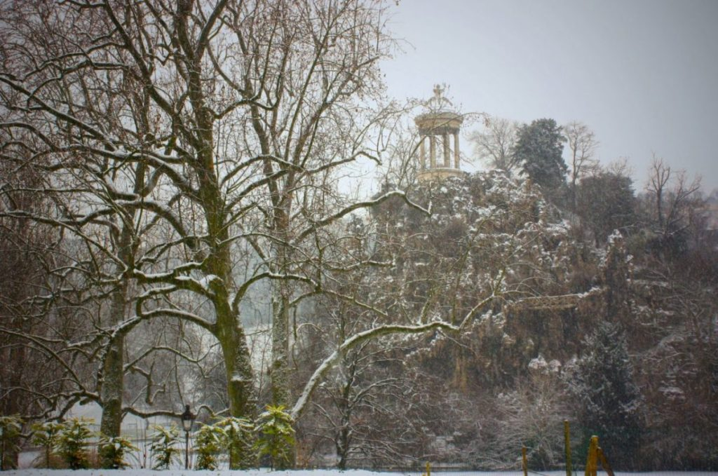 The Buttes-Chaumont park is sublime year-round, but I prefer it in the winter.