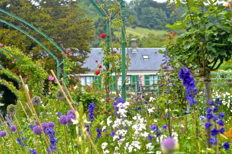 Monet's gardens at Giverny: one of the 5 best day trips from Paris by train.