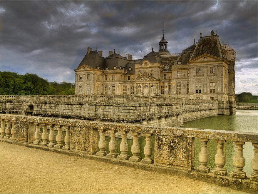 Chateau Vaux-le-Viconte outside Paris