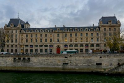 The Prefecture de Police building, as seen from the Seine River. Jorge Lascar/Creative Commons