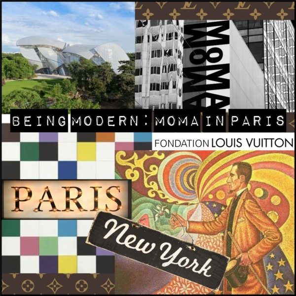 Being Modern: MOMA in Paris is showing at the Fondation Louis Vuitton in Paris through March 2018