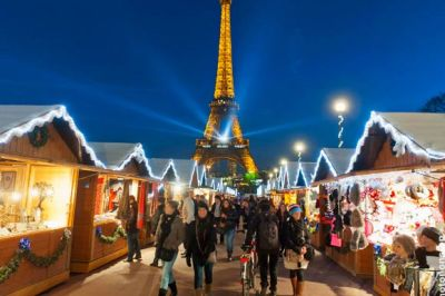 Christmas markets in Paris are always festive