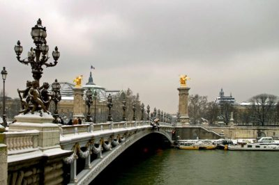 Paris in February can produce quite a bit of unexpected charm, but you have to open yourself to it.