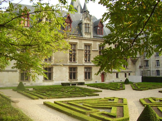 """The Hotel de Sens is one of Paris' only remaining medieval-era mansions, or """"hotels particuliers""""."""