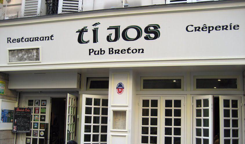 "Creperie Ti Jos in Paris, France. Image credit: <a href= ""http://comradechufood.blogspot.com/2010/09/ti-jos-paris-france.html"">Comrade Chu Food Enthusiast</a>"