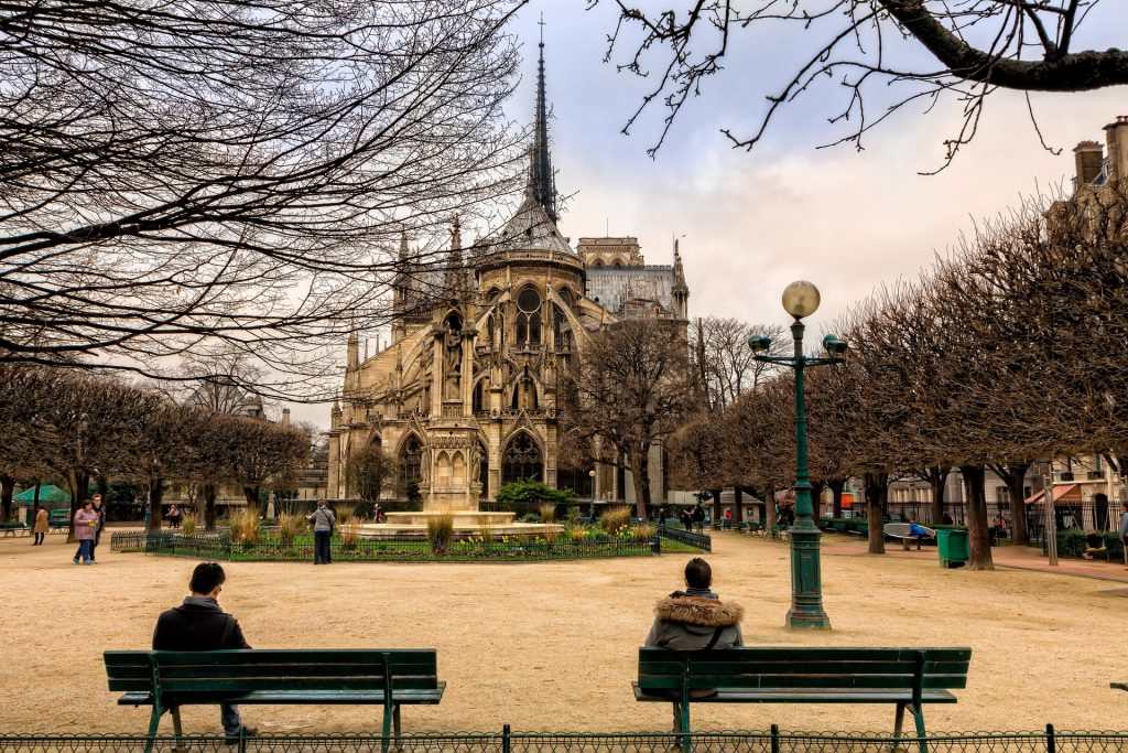 Notre Dame Cathedral in the fall/Image: Creative Commons