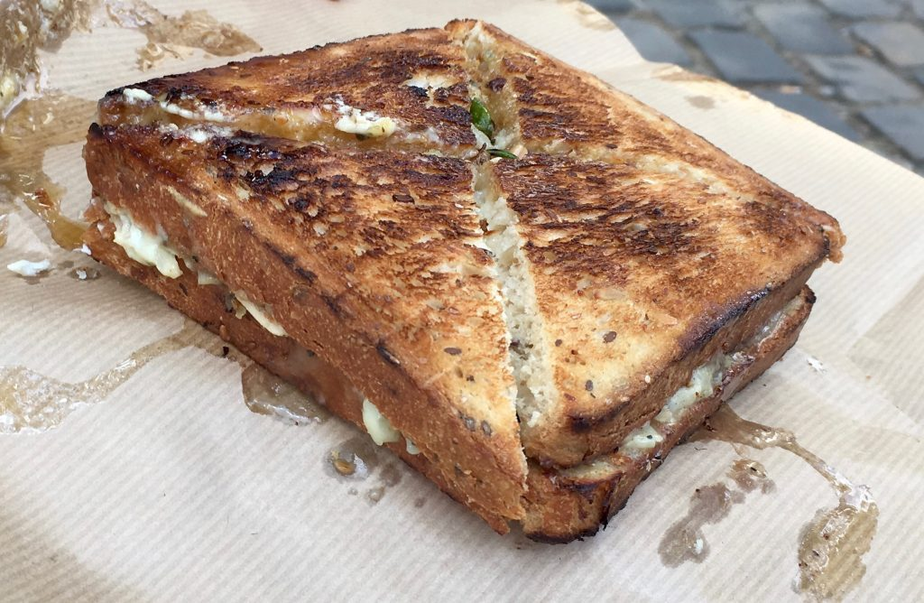 A vegetarian sandwich from Fric-Frac, Paris. Image: Courtney Traub/All rights reserved