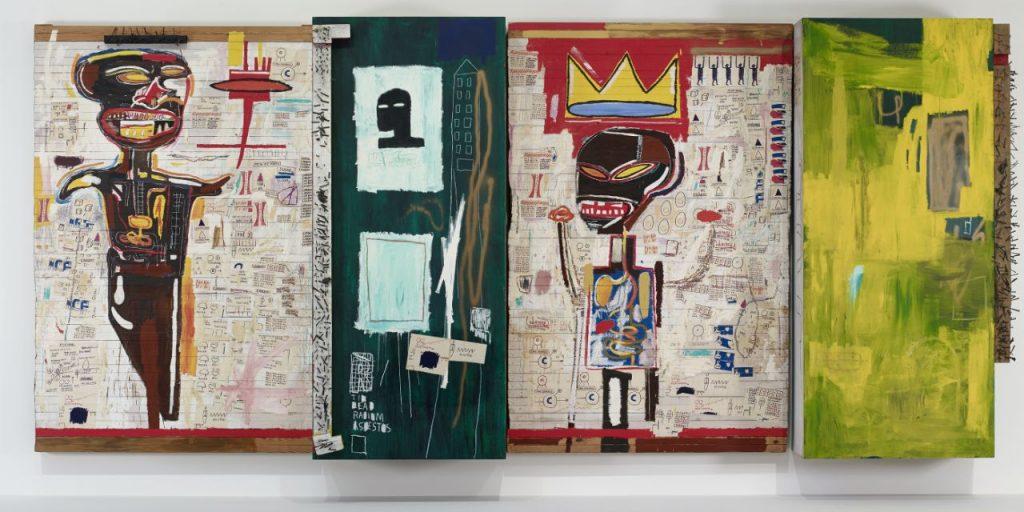 Jean-Michel Basquiat at the Fondation Louis Vuitton