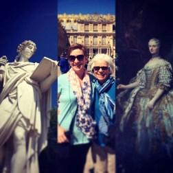 Versailles collage
