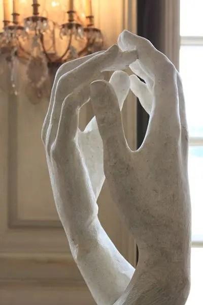 Rodin's La Cathedrale paris writing retreats june 2021 itinerary
