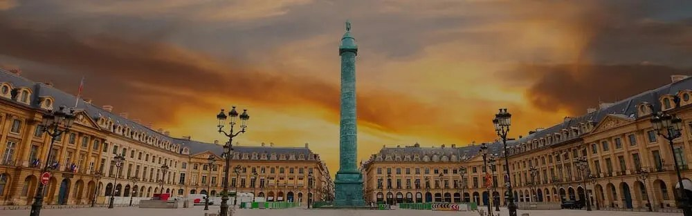 Place Vendome paris wiritng retreats june 2021 itinerary