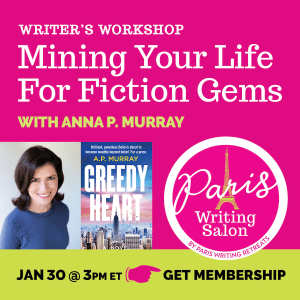 anna murray mining your life for fiction gems