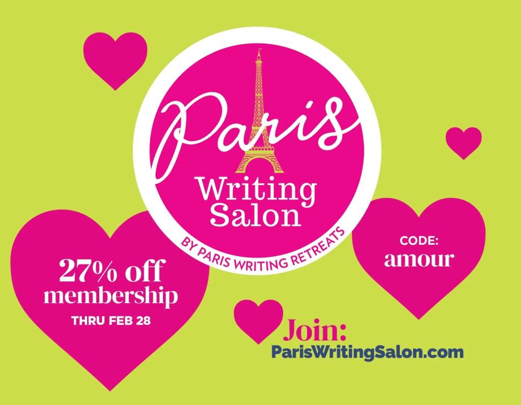 paris writing salon february 2021 promo