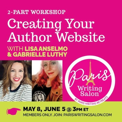 creating your author website