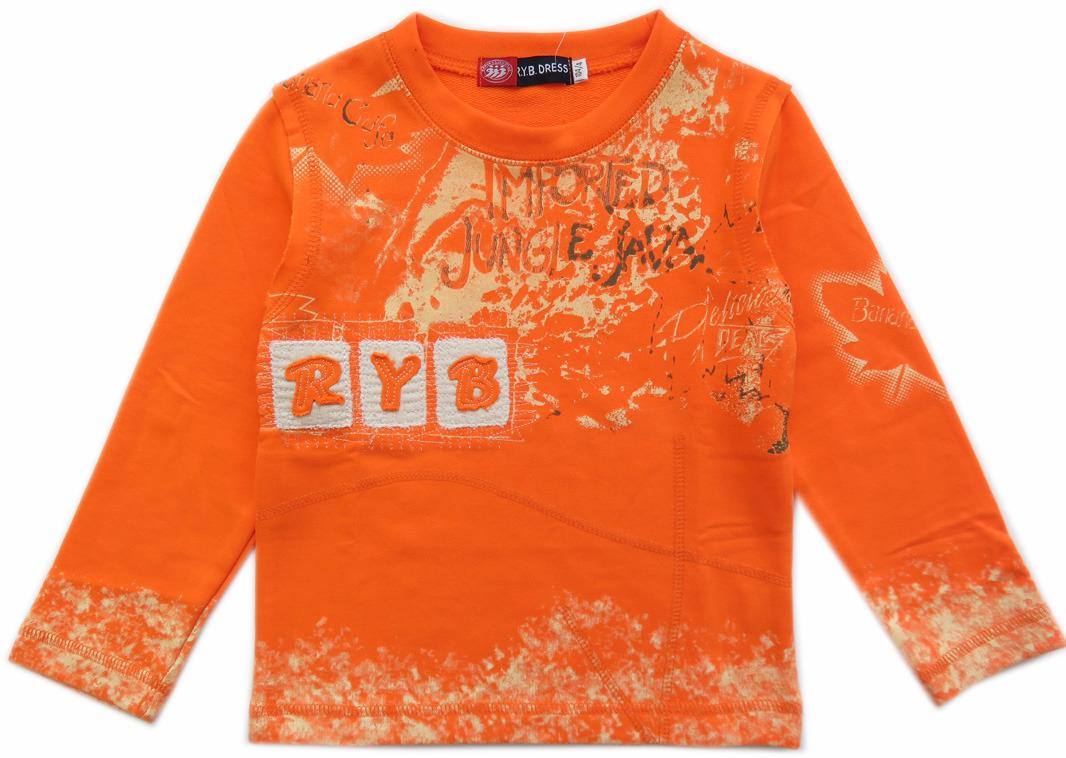 6c9eb2e771cf77 R Y B Sweatshirt Longsleeve Oranje