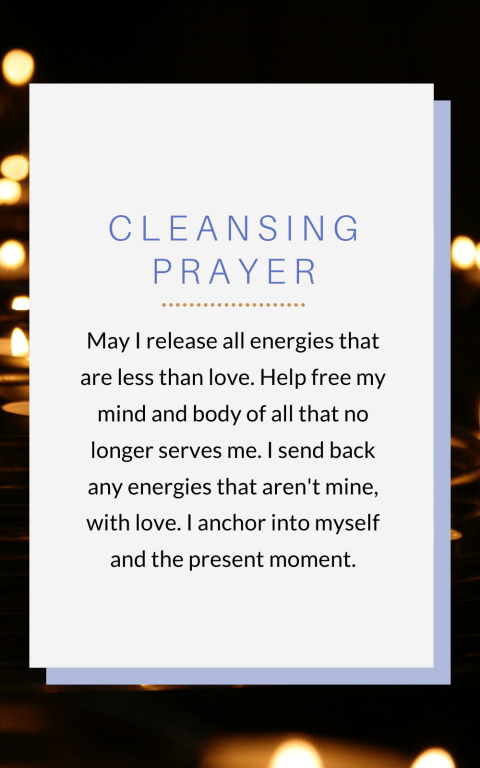 Cleansing Prayer - Protection for Reiki Healers