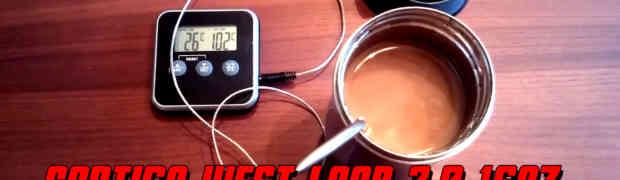 Contigo West Loop 2.0 16oz Stainless Steel Vacuum Flask - Heat Test
