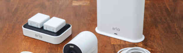 The Arlo security camera goes 4K