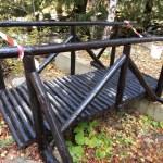 Лакиран дървен мост