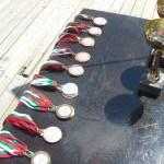 Медалите за победителите в различните категории