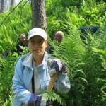 Силвия от ДПП Витоша помага в гасенето
