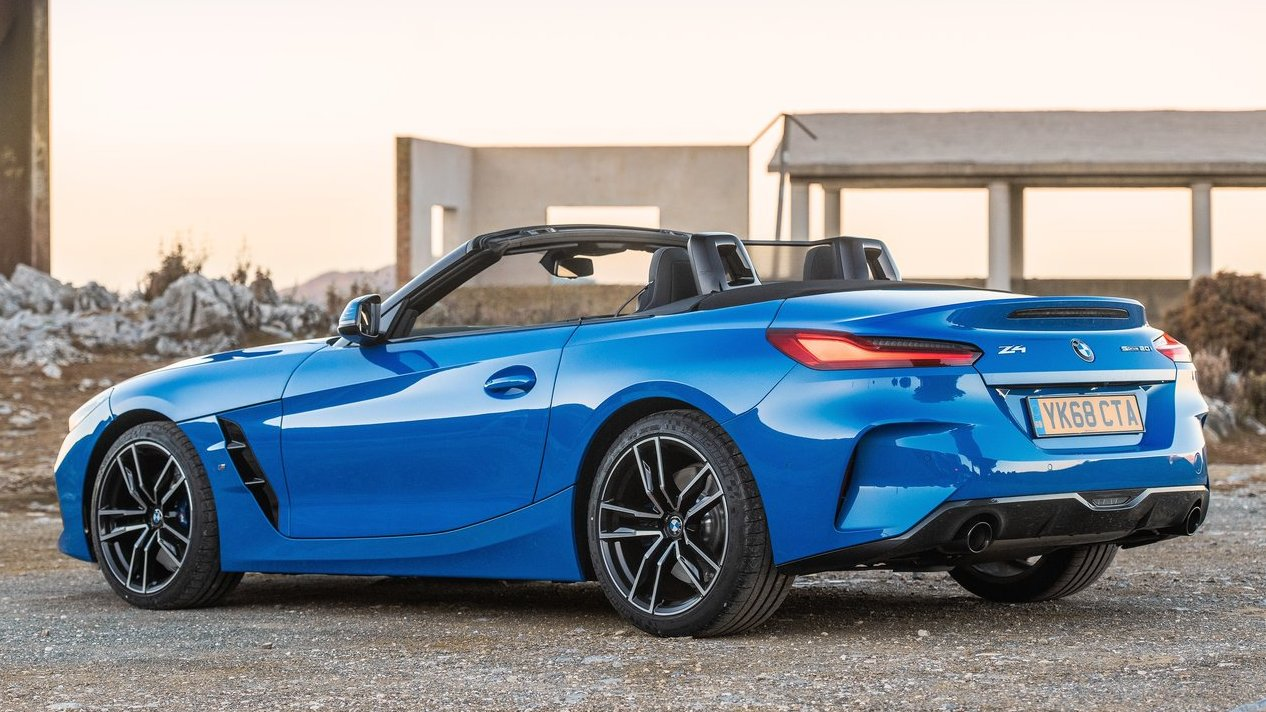 Our car experts choose every product we feature. 2019 BMW Z4 Roadster coming soon to India   Shifting-Gears