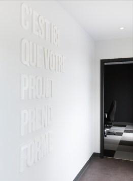 PARKA Architecture & Design - Architectes, Graphisme, Design, Québec. Design intérieur des bureaux de Classe Affaires.