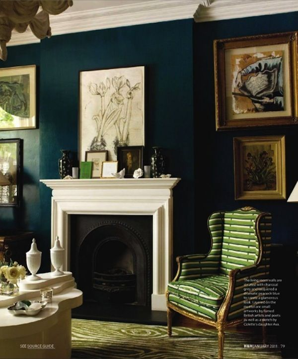 Favorite Colors Hague Blue Park And Oak Interior Design