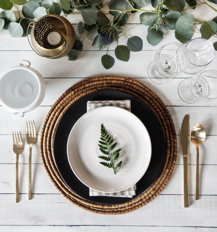 entertaining placesetting