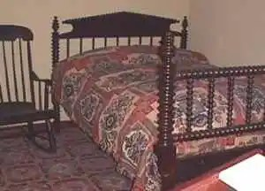 Abe Lincoln's bed