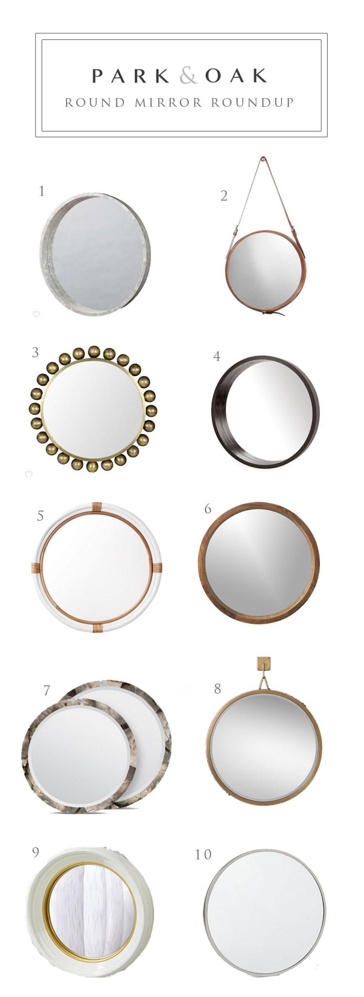 round mirror round up