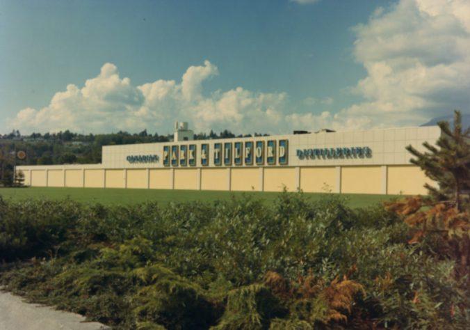 Park&Tilford Distilleries Building 1957