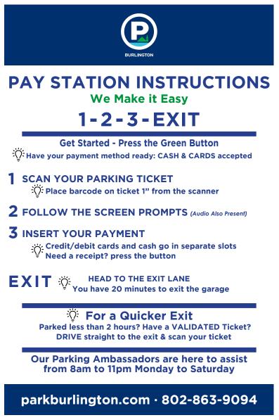 Pay Kiosk Instructions