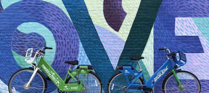 Bikeshare Enjoys Successful First Summer