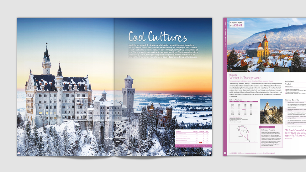 Travel Magazine Designs – London Cheshire Cambridge