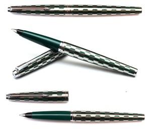 Experimental Green Parker 45 harlequin 80