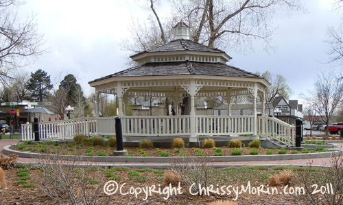 OBrien Park Parker co gazebo town of parker colorado