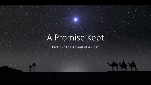 A Promise Kept – Part 1 (John Meyer)