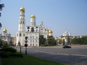 Cathedrals in the Kremlin