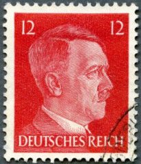 GERMAN REICH - 1940's: shows Adolf Hitler (1889-1945)