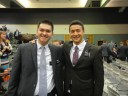 Stanford Elders:  Elder Andrew Lee (heading to South Korea) and I