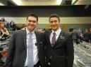 Stanford Elders:  Elder Andrew Lee (heading to South Korea) and I