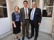 """President and Soeur Poznanski, who will be ending their missions this week.  They have truly helped me magnify my capacities as a missionary.  A great example of """"leaving things better than you found them"""""""