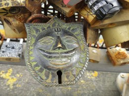 Incredible Lock I found on Pont des Arts
