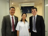 Our amie, Sœur Gao, who was baptized last transfer.  What a miracle!