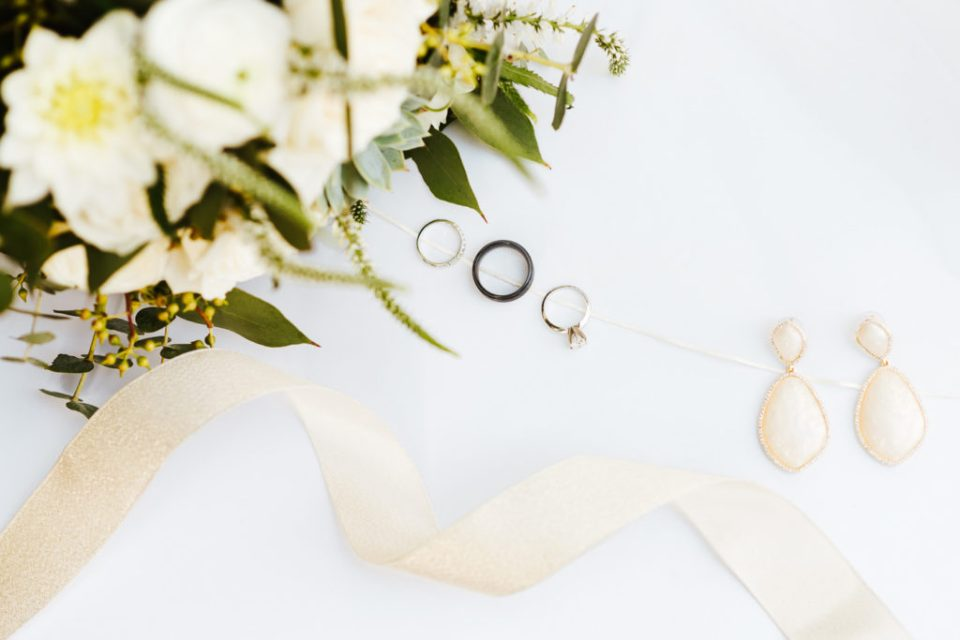 sage and cream wedding details