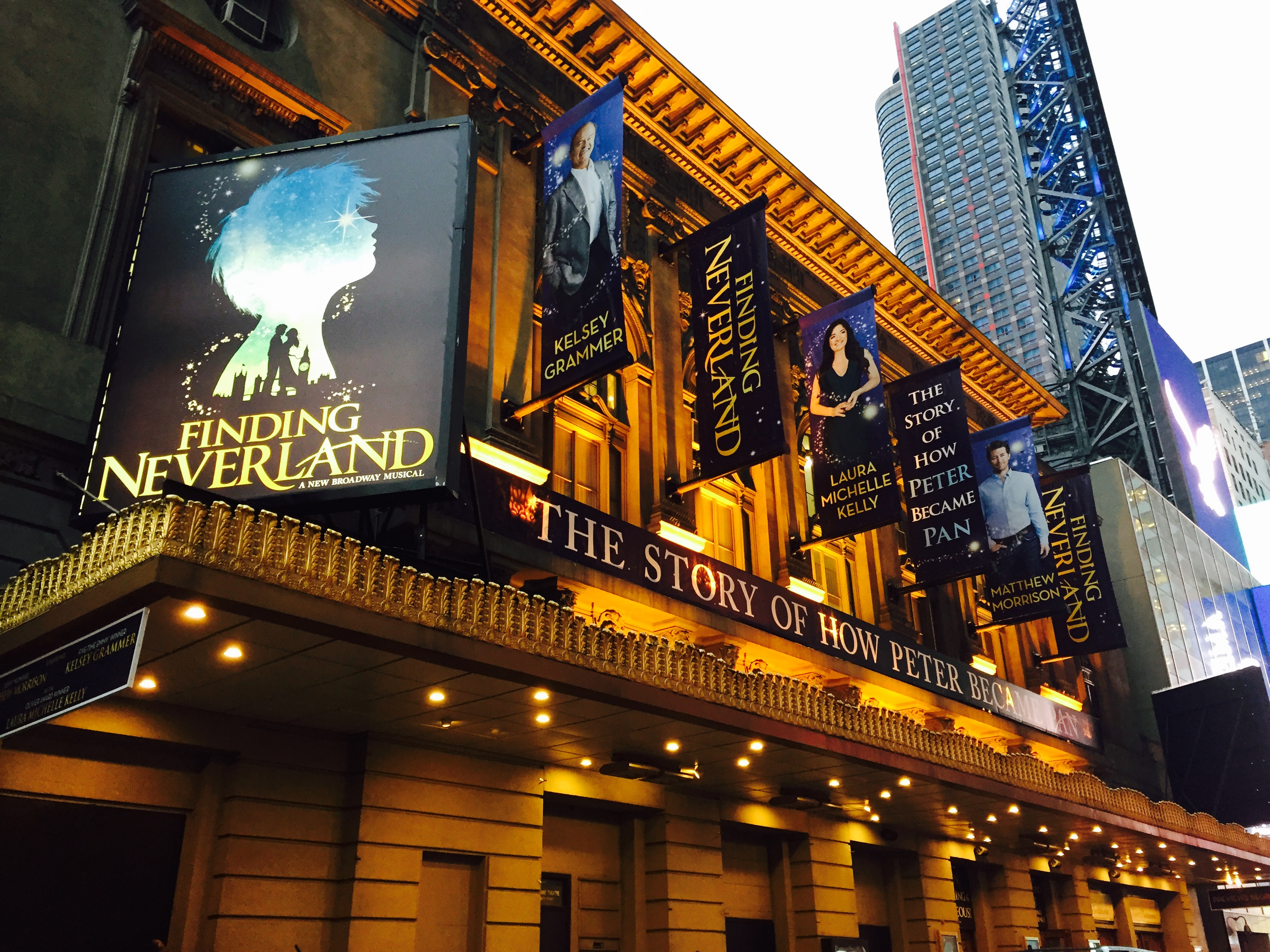 Finding Neverland on Broadway  Melanie Parker