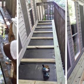 Balcony Reconstruction