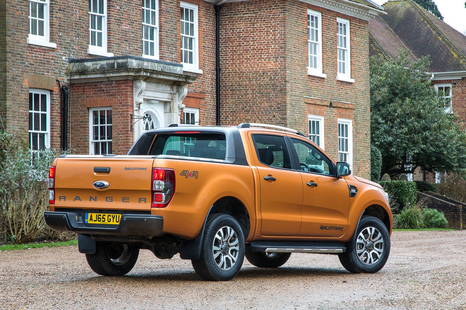 hight resolution of ford ranger review 2016 facelift rear view orange wildtrak