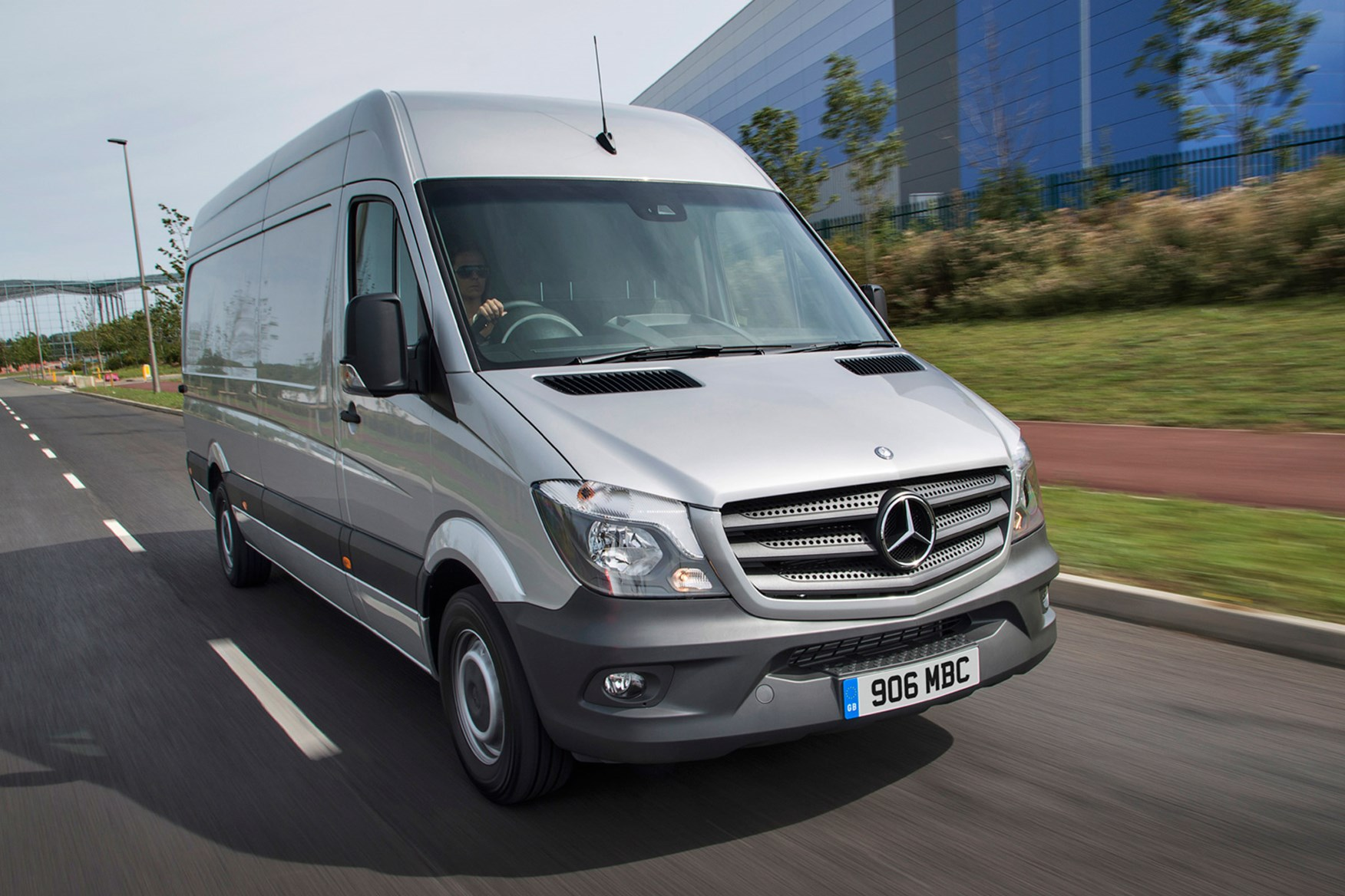 hight resolution of mercedes benz sprinter full review on parkers vans front exterior